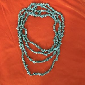 Healing high quality extra long antique necklace